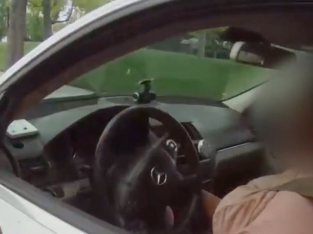 'You'll never be white': Black driver blasts Latino cop, calls him a 'murderer' after being pulled over for cell phone
