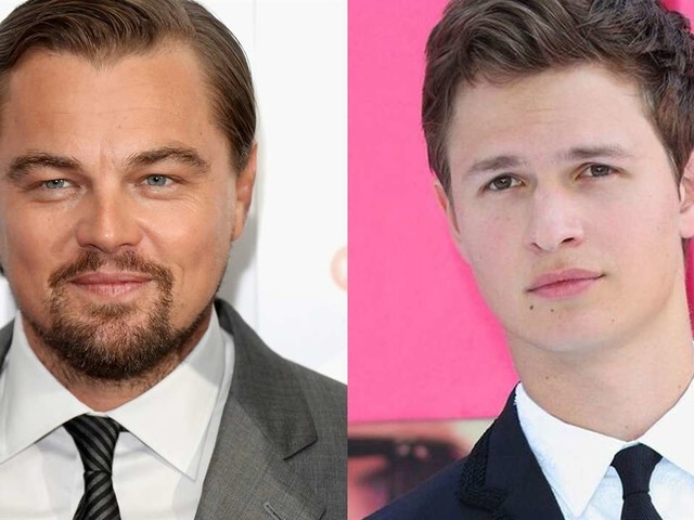 Ansel Elgort & Leonardo DiCaprio Are Volleyball BFFs