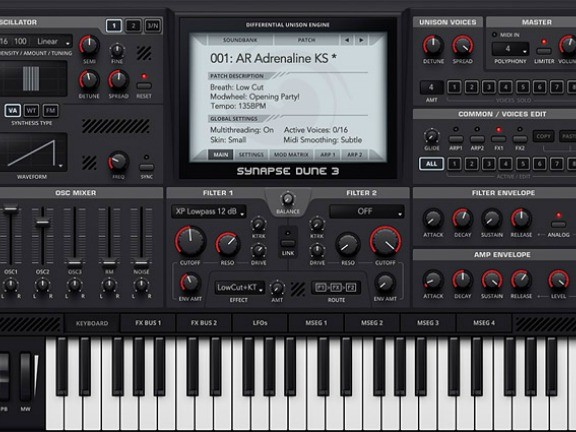 Dune 3 Synth Released