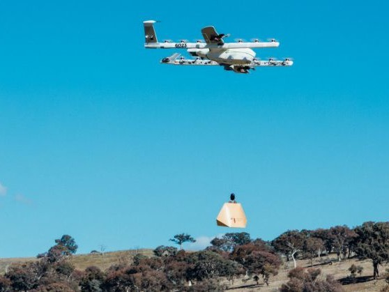 Alphabet's Project Wing will send burrito drones to individual homes in Australia