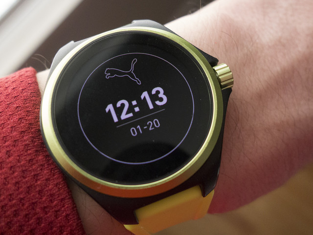 Puma Smartwatch review: A smartwatch that's best when the smart stuff is turned off