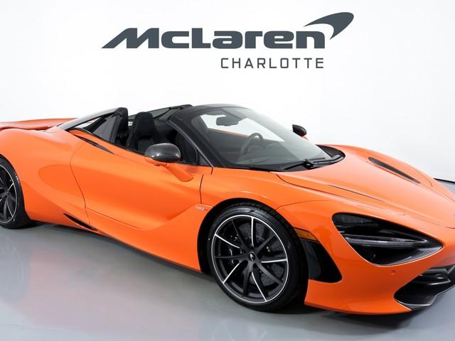 2020 McLaren 720S--Spider Performance