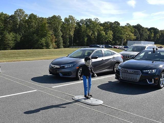 New pedestrian crash prevention ratings