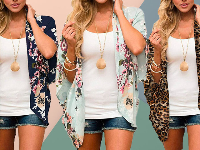 'Instant outfit upgrade!:' This summer kimono with more than 6,300 perfect Amazon reviews is on sale for $18 —over 50 percent off!