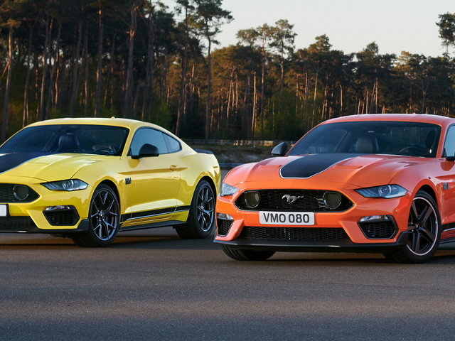 Thunderous 2021 Ford Mustang Mach-1 Begins Deliveries In Europe