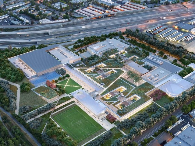 Look out Apple, frenemy Microsoft is building its own Silicon Valley 'Campus of the Future'