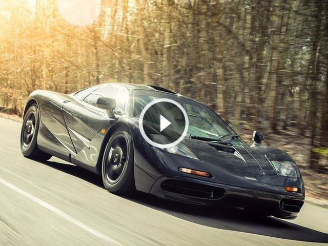 Here's Why The McLaren F1 Had A Center Driver's Seat