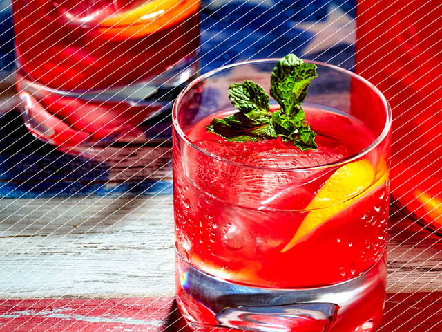 Drink DuJour: Red Rum Punch