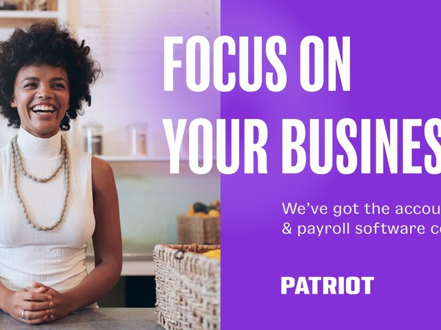 Payroll Software for Small Business | Patriot Software