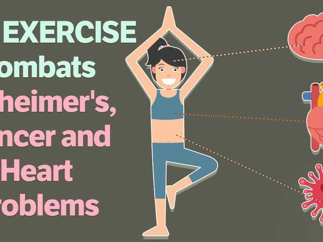 How Exercise Combats Heart Problems, Alzheimer's and Cancer