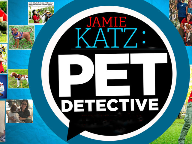 South Florida's Pet Detective Jamie Katz Reunites Lost & Missing Pets With Owners