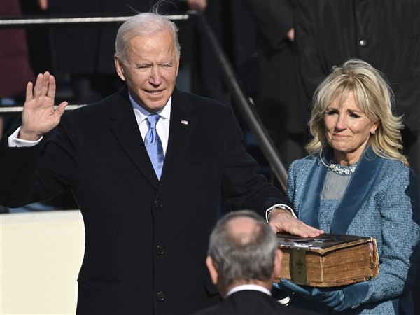 Progressives not enthusiastic about President Biden, look ahead to 2024