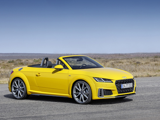 Audi TT Updated for 2019, We Think?