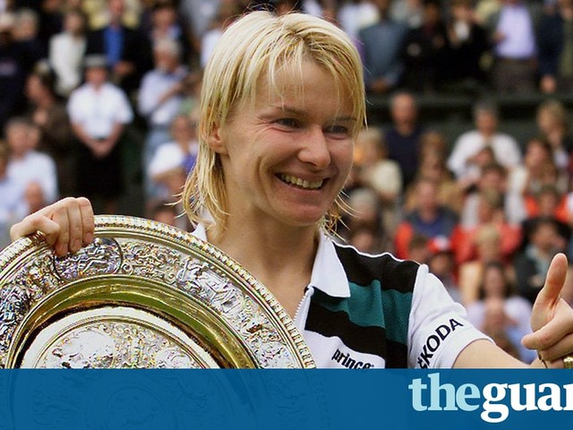 No one will forget the day it came right for Jana Novotna at Wimbledon