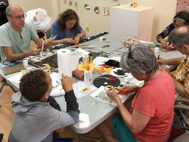 Back to collage: Bushwick school offers adult art classes