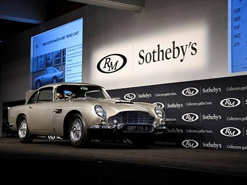 RM Sotheby's sells James Bond Aston Martin DB5 for $6.4 million
