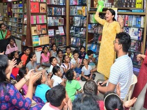 The storyteller who takes children on a journey to wonderland