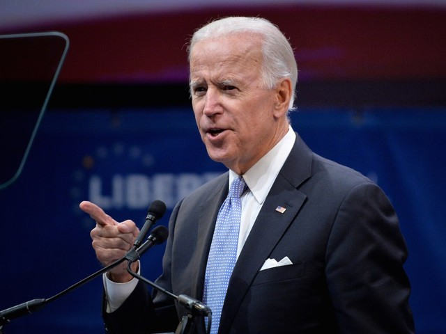 Joe Biden is running for president on an 'I'm not Trump' platform, which spectacularly failed for Hillary Clinton in 2016