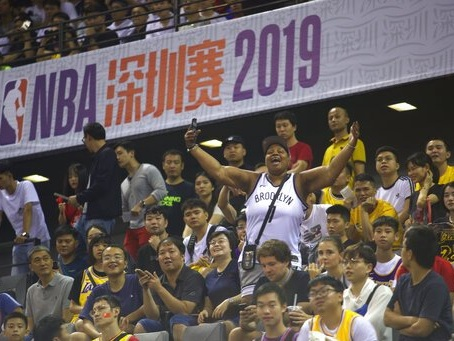 Mild Protests In Shenzhen, China As Los Angeles Lakers Suffer Second Loss And Anthony Davis Injury