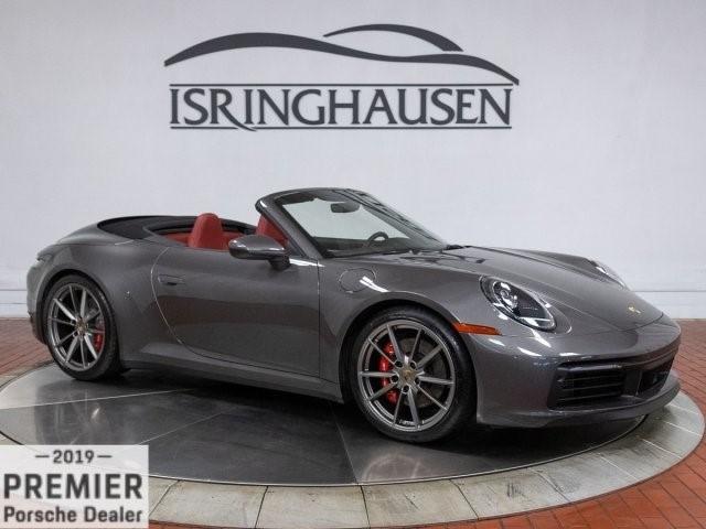 2020 Porsche 911--Carrera--4S--Cabriolet