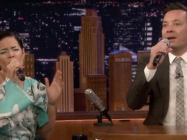 Halsey and Jimmy Fallon's Google-Translated Backstreet Boys Duet Has Us Cackling