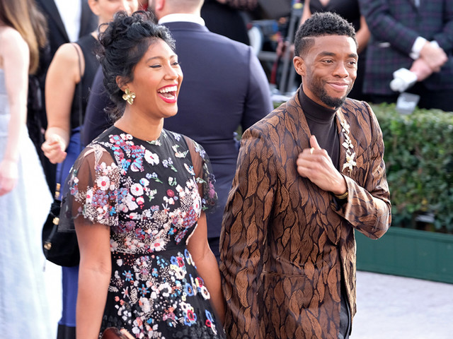 Chadwick Boseman's widow delivers tearful acceptance speech for Golden Globes win