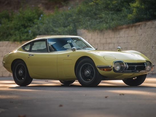This is Not a Drill: There's a Toyota 2000GT Heading to Auction