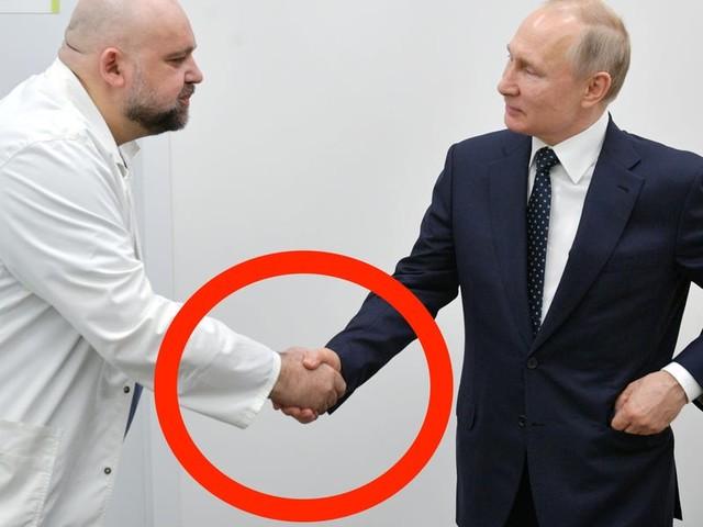 Russian doctor who shook Vladimir Putin's hand tests positive for coronavirus