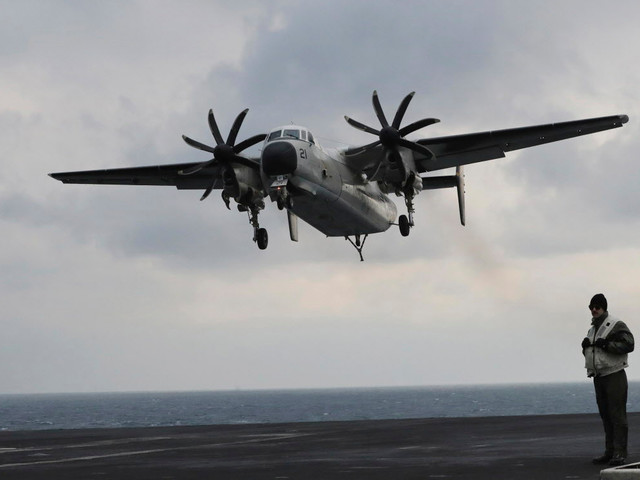 Ships, aircraft search Philippine Sea for 3 missing in crash