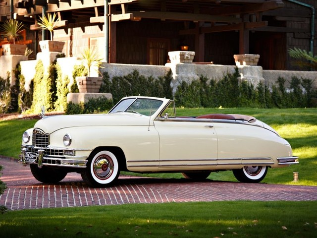 Great Scott! Doc Brown's Packard convertible comes up for auction