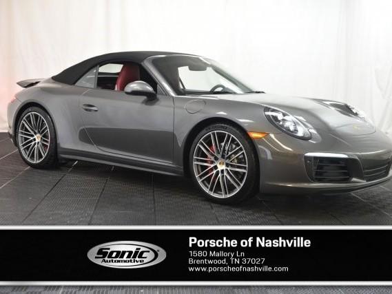 2019 Porsche 911--Carrera--4S--Cabriolet