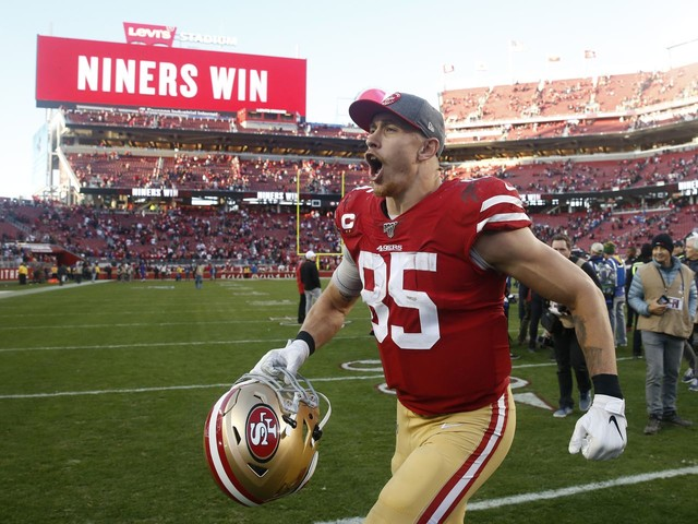 Who is George Kittle? A self-made star who leads 49ers with both brutality and bliss.