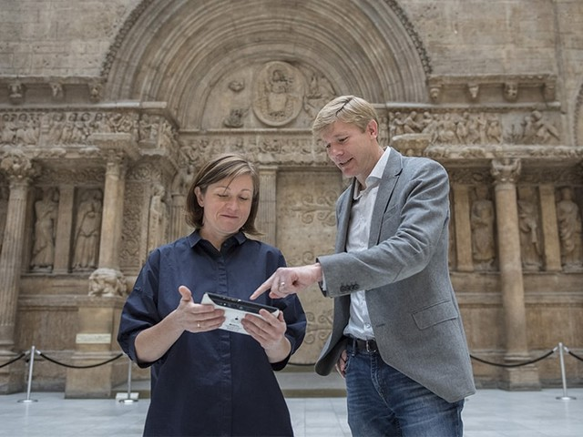 Augmented Reality App Puts Museum Visitors in Touch with Architectural History