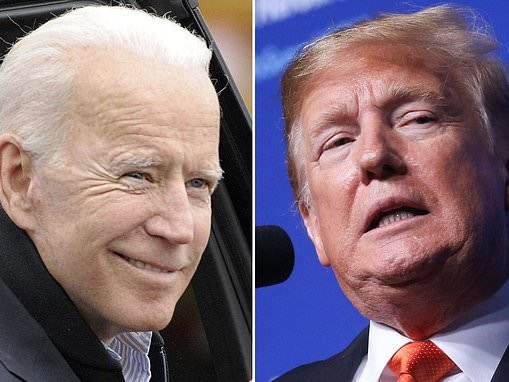 Shock new poll puts Biden EIGHT points ahead of Trump