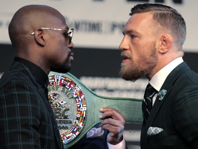 McGregor & Mayweather offered chance to face off again… on Japanese TV challenge show