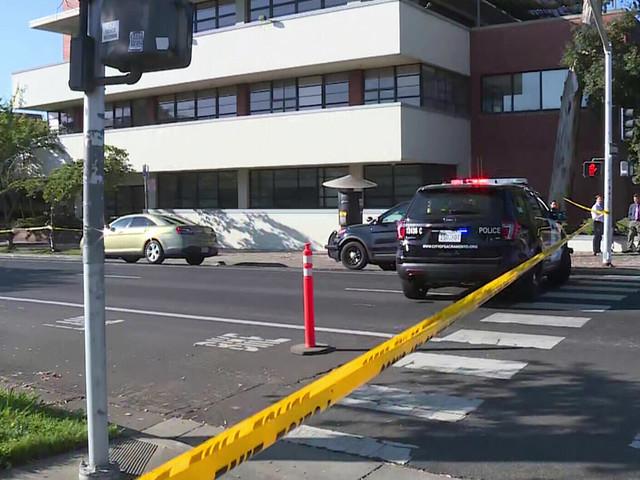 Bomb Squad Investigates Suspicious Package Left Outside The Sacramento Bee