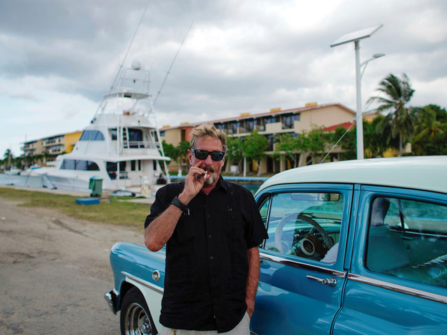How John McAfee 'blew' $100 million: Widow says Belize, 49 children, lawsuits, and 2008 crash all played a part