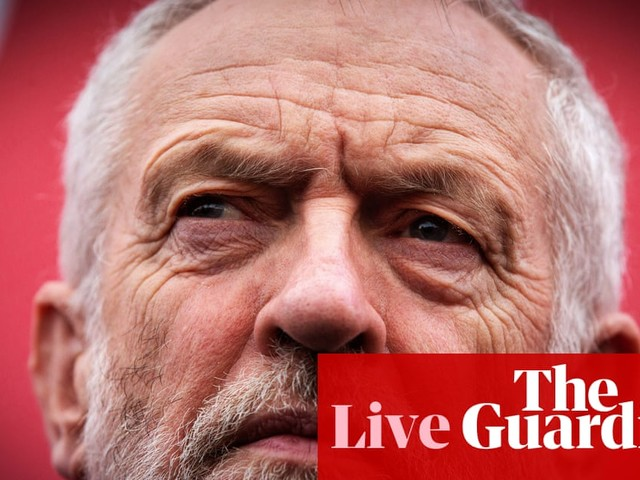 General election 2019: Corbyn to launch Labour's 'manifesto of hope' – live news