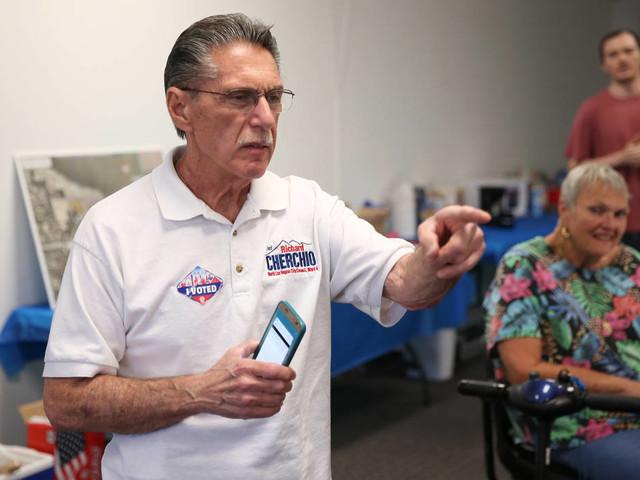 Richard Cherchio wins North Las Vegas runoff, keeps Ward 4 seat