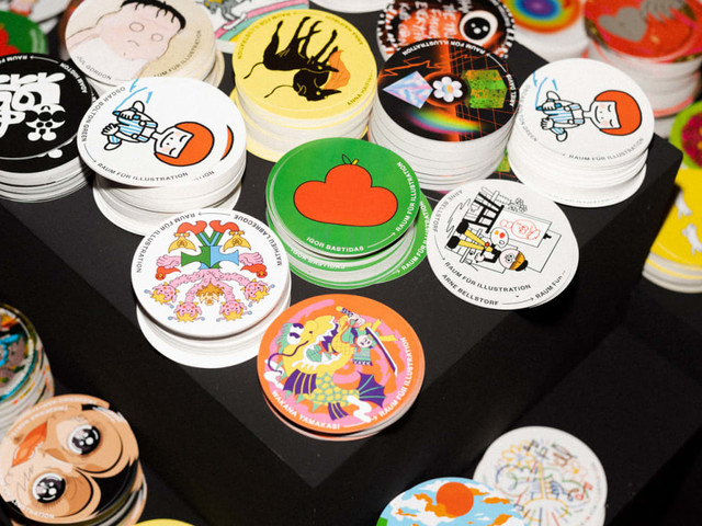 Reviving the lost art of sticker bombing