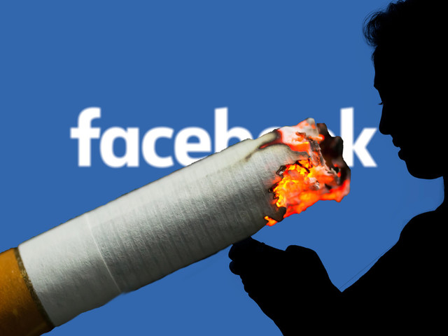 Time owner slams Facebook as 'the new cigarette'