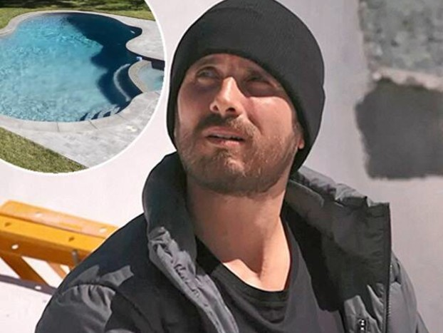 Scott Disick's Pool Gets a Modern Revamp: See the Stunning Before & After!