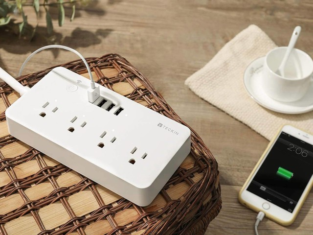 This $23 Kasa power strip controls 3 different devices with your phone or Alexa