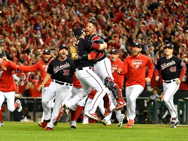Opinion: D.C. seeing red in October as Nationals step out of NFL's shadow in nation's capital