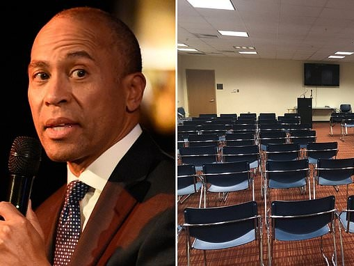 Deval Patrick cancels campaign speech at Georgia HBCU after just TWO people show up