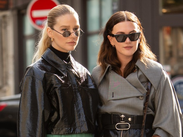 Give The Leather Look A Try With The Help Of These 8 Street Style Stars