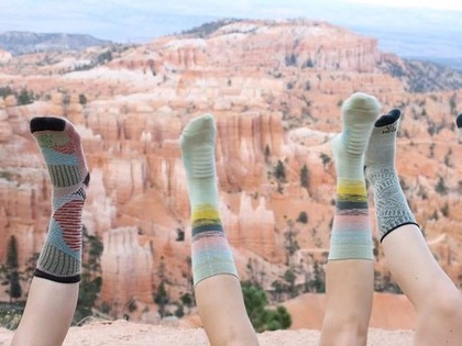 Farm to Feet socks are made entirely in the U.S.