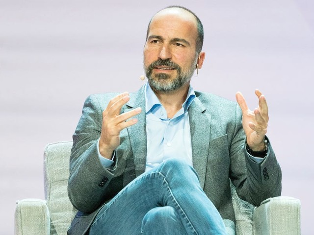 Uber's CEO says he never sought the job, and that encapsulates his best advice for young people: Don't overplan your life (UBER)
