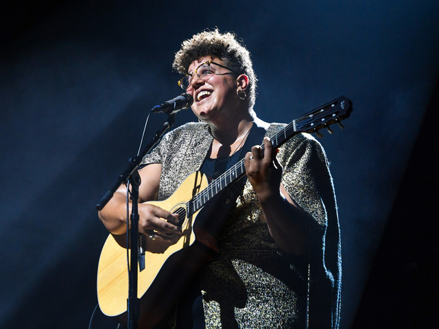 Alabama Shakes' Brittany Howard rocks to a solo beat on new album