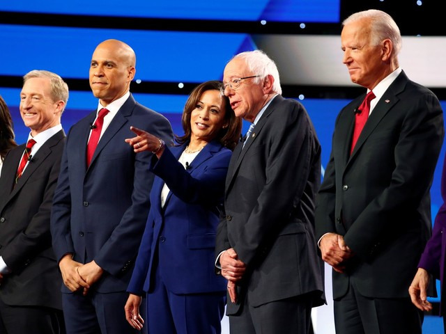 Several Democratic candidates call on the DNC to make the debates more diverse
